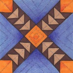 goose-chase quilt